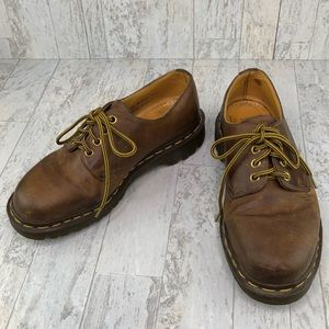 Vintage Dr Doc Marten Oxford Boots Made In England